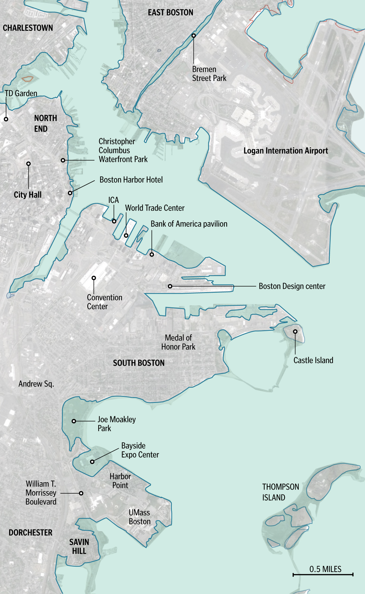 FEMAs New Flood Map Reaches Deep Into City