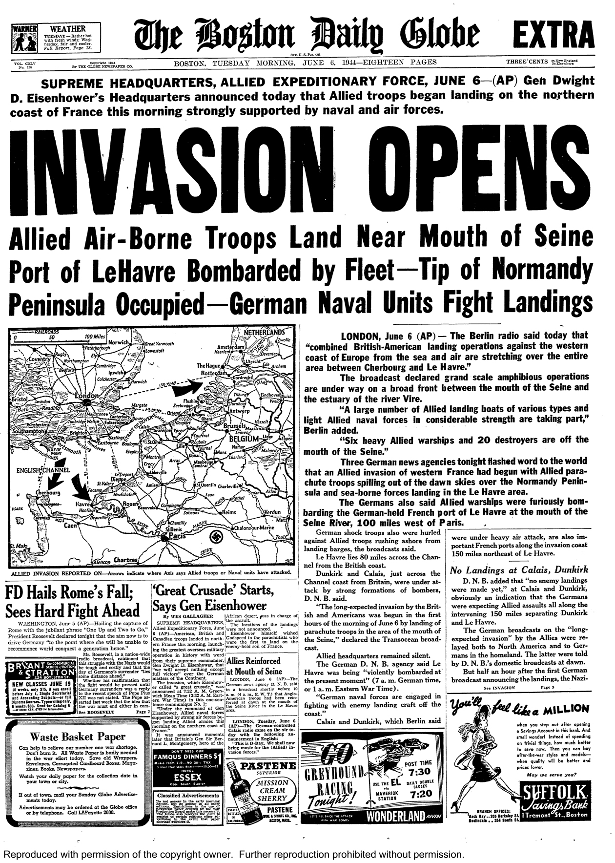 the details of the events of the d day in the history of wwii World war ii would mark a period in history that would pit millions of individuals fighting against one another during 1939-1945 during this time, germany captured france forcing the allies.