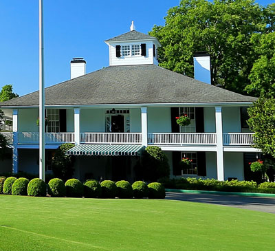 Graphic Landmarks Of The Masters At Augusta National