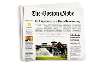 Connections - The Boston Globe